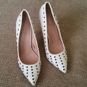 Zara trafaluc  studded heels